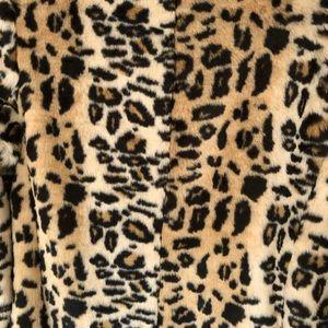 LOFT Jackets & Coats - Loft by Ann Taylor Leopard Fur Coat